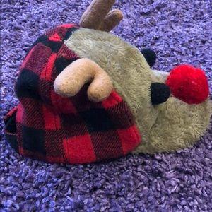 Accessories - Adorable Baby Boy Reindeer Baseball Cap Sz 12-18M